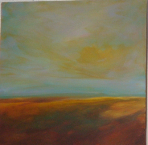 Katie Todd Small Abstract Landscapes Acrylic on Canvas