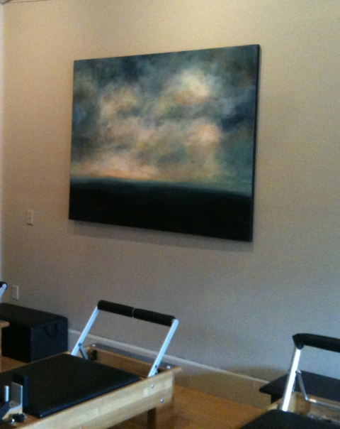 Paintings in Their Homes Springwater Pilates Studio