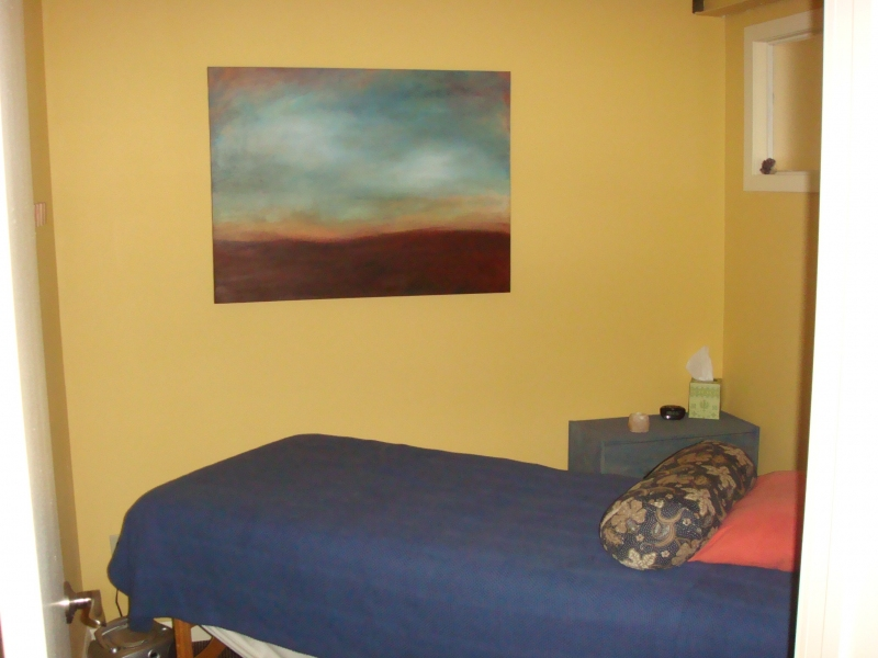 Paintings in Their Homes Massage Room