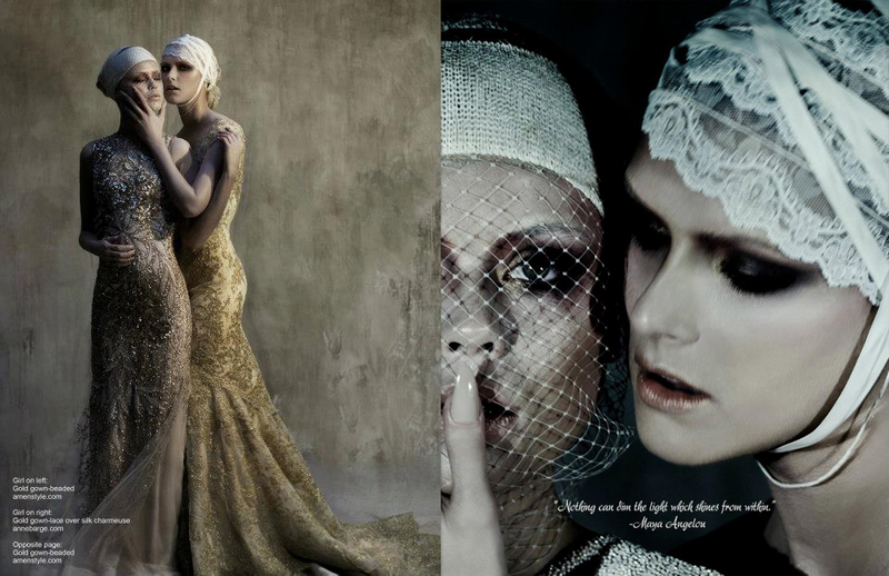 Editorial for Poetic Couture
