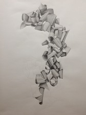 Katlin Evans Drawings graphite on paper