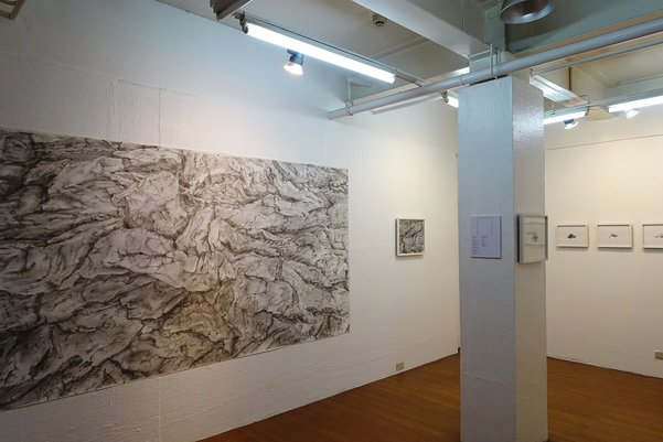 exhibition photos Drawing Abundance - solo exhibition at West Gallery, Quezon City, Philippines, August-Sept 2018 (photo credit by West Gallery)