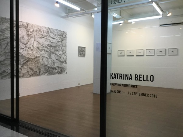 Drawing Abundance -  solo exhibition at West Gallery, Quezon City, Philippines,  August-Sept 2018