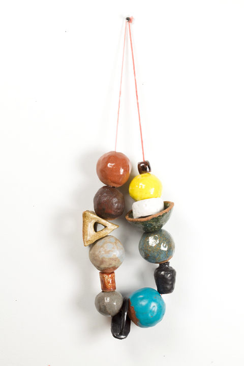 KATY KRANTZ The Gifts ceramic and waxed string