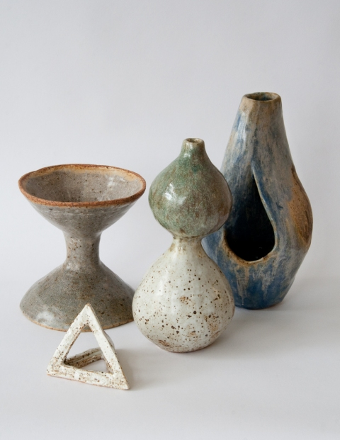 KATY KRANTZ The Centerpiece high fired ceramic stoneware with glaze