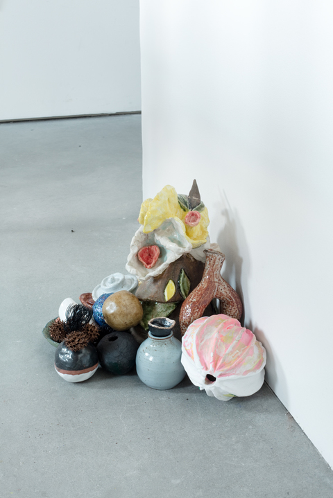 KATY KRANTZ Brooklyn ceramic and found objects