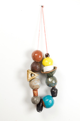 KATY KRANTZ The Gifts (ongoing) ceramic and waxed string