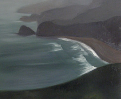 Kay Knight Clarke First Exploration oil on linen