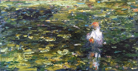 The Fishermen Series Oil