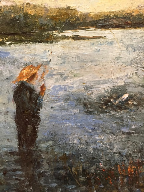 "The Fishermen Series Oil 16""x20"""