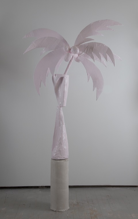 Kelcy Chase Folsom 2014/2015 porcelain, powder-­coated aluminum windmill