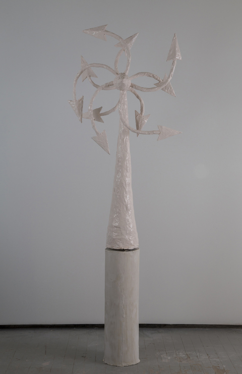 Kelcy Chase Folsom 2014/2015 porcelain, powder-coated aluminum windmill