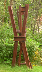 Ken Greenleaf Sculpture Welded Steel