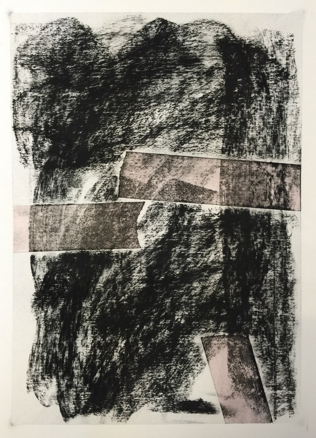 Kenneth Jaworski Selected Recent Works | 2016-Present Charcoal and Tape on Paper