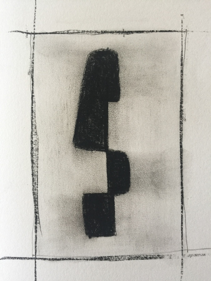 Kenneth Jaworski Selected Recent Works | 2016-Present Conté Crayon on paper