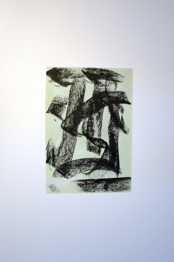 Kenneth Jaworski Selected Recent Works 2013-2015 Charcoal and chalk pastel on paper