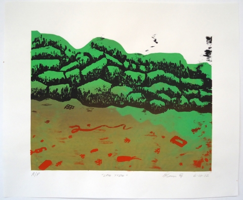 Monhegan Prints screen print | edition of 11 prints