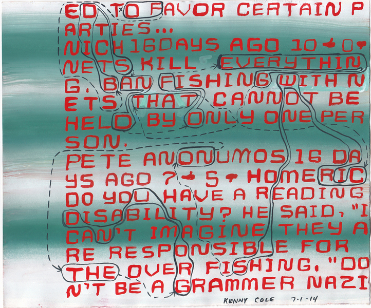 "Drawings 1 - 99 #39 ""Don't be a Grammar Nazi"""