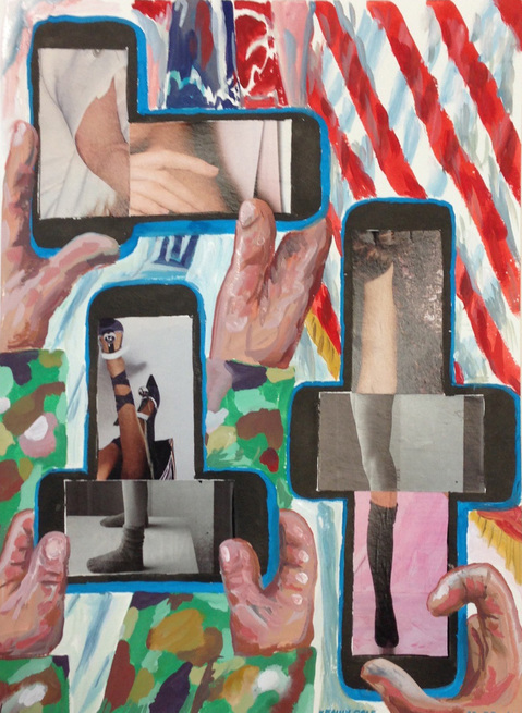 "Smart Phone Collages ""Salute"""