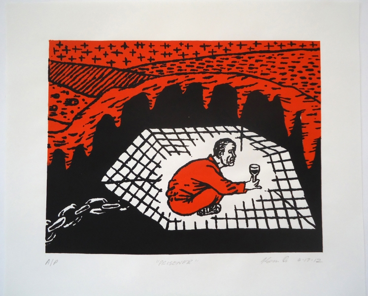Monhegan Prints Prisoner