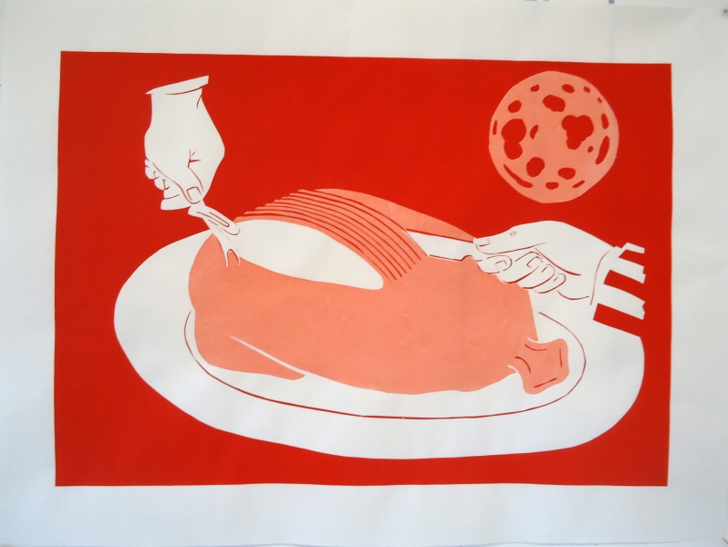 Kenny Cole 2013 prints screen print