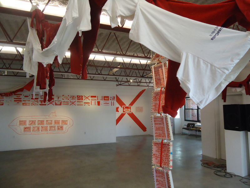 Distress Installation view