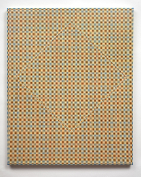 Ken Weathersby Paintings 2006 - Present acrylic & graphite on canvas with removed and replaced area