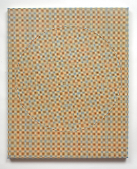 Ken Weathersby Paintings 2006 - Present acrylic & graphite on canvas, over linen, with removed and replaced area