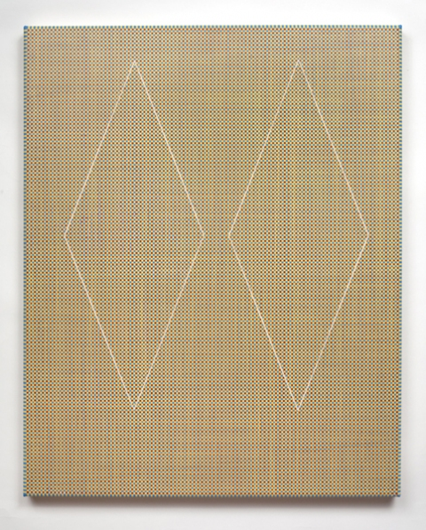 Ken Weathersby Paintings 2006 - Present acrylic & graphite on canvas with removed linear areas