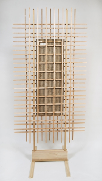 Ken Weathersby Paintings 2006 - Present acrylic & graphite on linen with wood, nails and linen