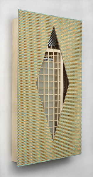 Ken Weathersby Paintings 2006 - Present acrylic & graphite, linen, wood