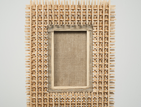 Ken Weathersby Paintings 2006 - Present acrylic & graphite on linen, wood, glue, shelf