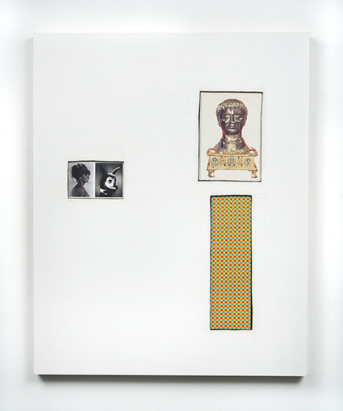 Ken Weathersby Paintings 2006 - Present collage & acrylic and graphite on linen, panel