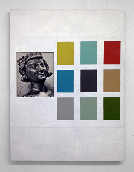 Ken Weathersby Paintings 2006 - Present acrylic & graphite on linen, collage