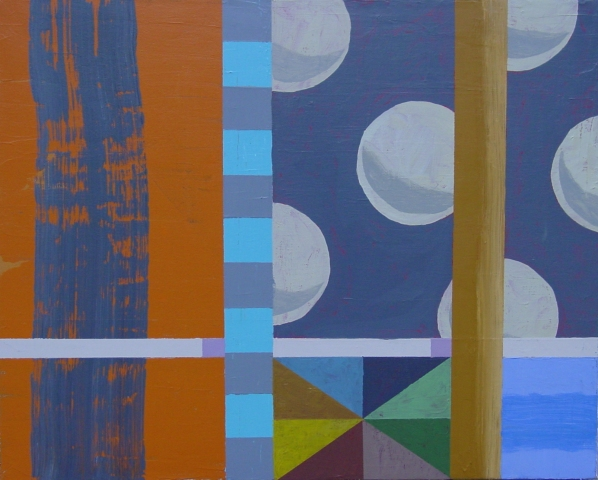 Kevin Wixted Selected Paintings 2013 Acrylic on Canvas