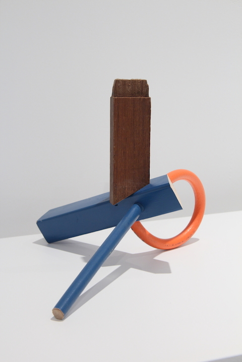 Key Projects Art Space Forming Identities Wood, rubber, latex paint