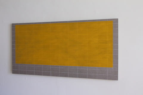 Key Projects Art Space A Clearing: New Work by Sharon Brant and Debra Ramsay Colored pencil (white) & acrylic on linen