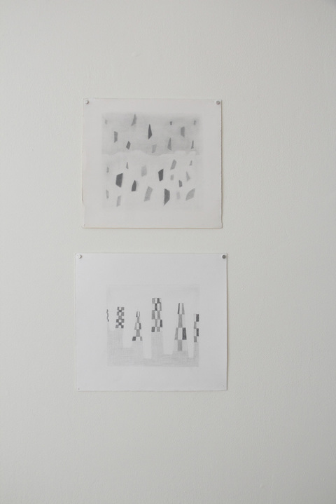 Key Projects Art Space Runcible Spoon pencil on paper