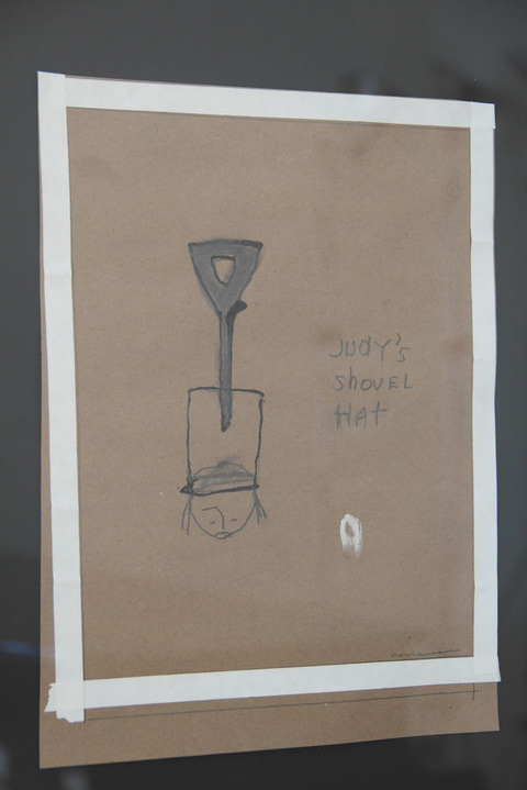Key Projects Art Space Runcible Spoon mixed media on paper
