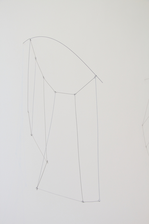 Key Projects Art Space Lightly Structured Stainless steel wire and music wire