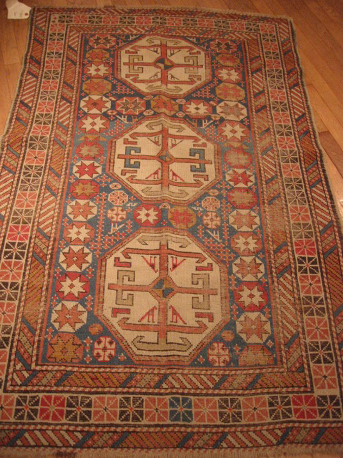 KILIMS - Small #LM6 Caucasian Rug
