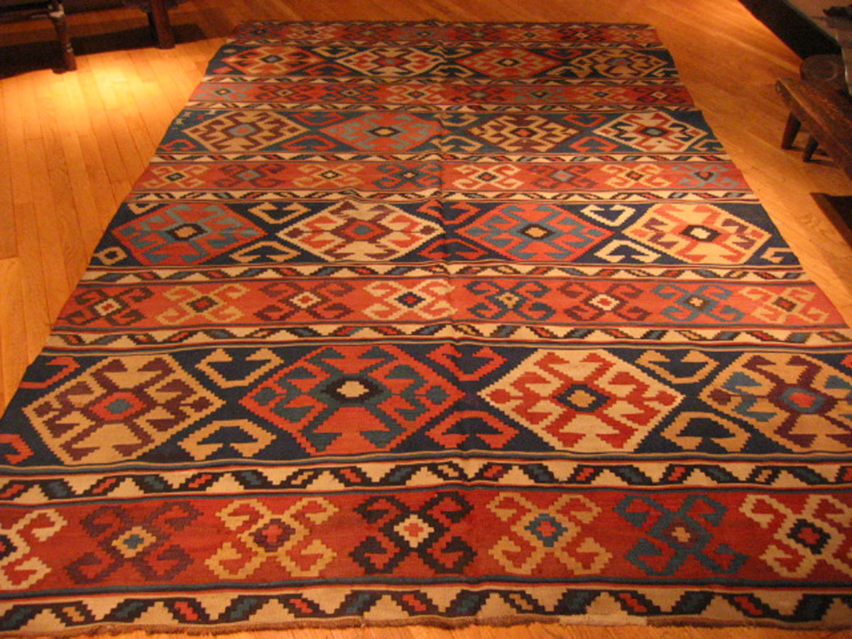 KILIMS - Large #367 Persian Kilim