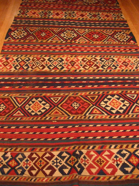 KILIMS - Medium #844 Antique Shirvan