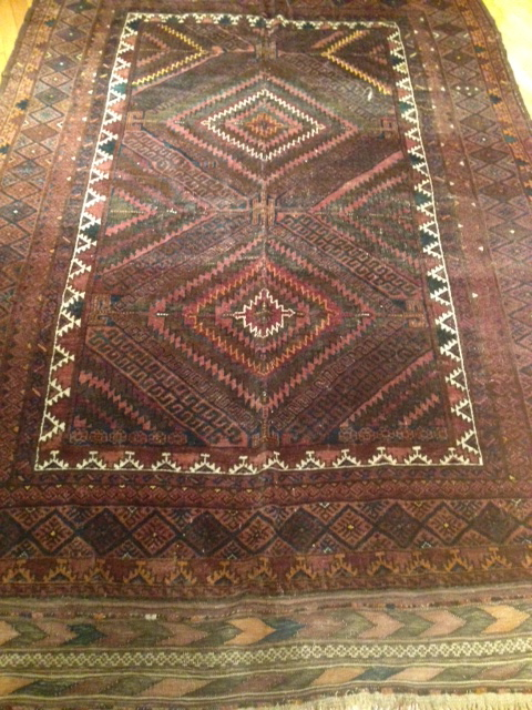 KILIMS - Medium #LM1 Belouchi Pile Rug