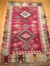KILIMS - Small wool; vegetable dyes