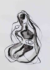 Kimberly DiNatale New Drawings 2018 ink on paper