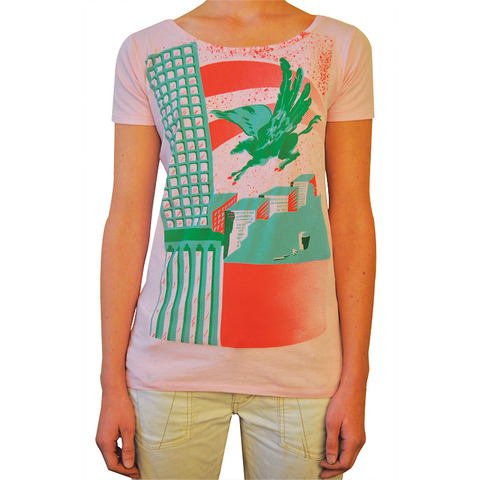 Kimberly Reinhardt BUY!!! 3 Color Silkscreen on Cotton Tee