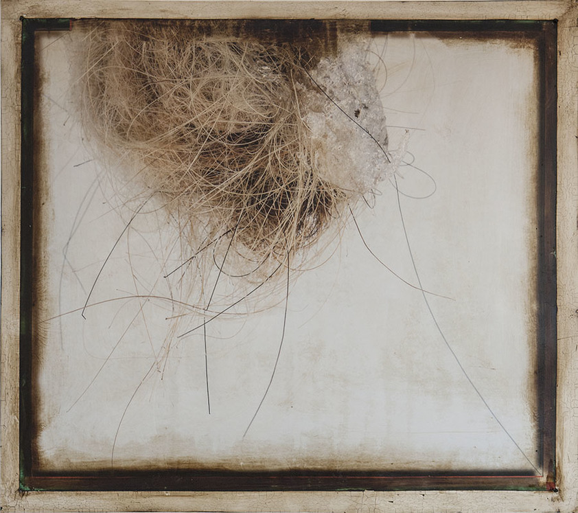 K  R  I  S   C  O  X  photo-based works : 2015 - present  Archival digital print, pigmented wood putty, beeswax, asphalt emulsion on Innova natural cotton rag paper