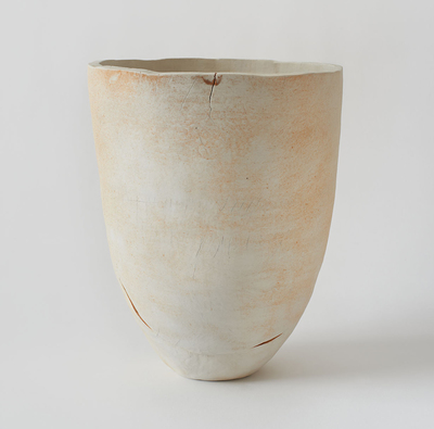 KRISTEN JENSEN Some work porcelain with rutile wash