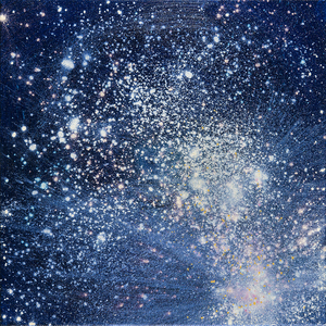 "Kristin Schattenfield-Rein We Are All Made Of Stars 12""x12"""